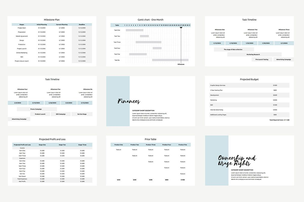 Agency Proposal PowerPoint Template, Slide 5, 04743, Infographics — PoweredTemplate.com
