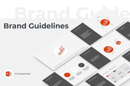Presentation Templates: Brand Guidelines PowerPoint Presentation Template #04745