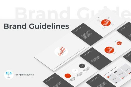 Presentation Templates: Brand Guidelines Keynote Presentation Template #04746