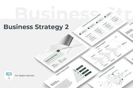 Presentation Templates: Business Strategy 2 Keynote Presentation Template #04747