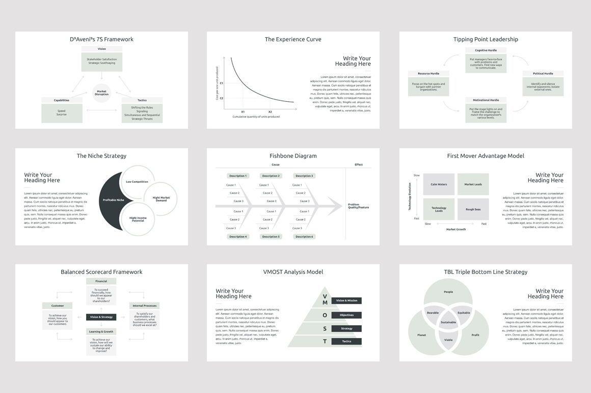 Business Strategy 2 Keynote Presentation Template, Slide 4, 04747, Presentation Templates — PoweredTemplate.com