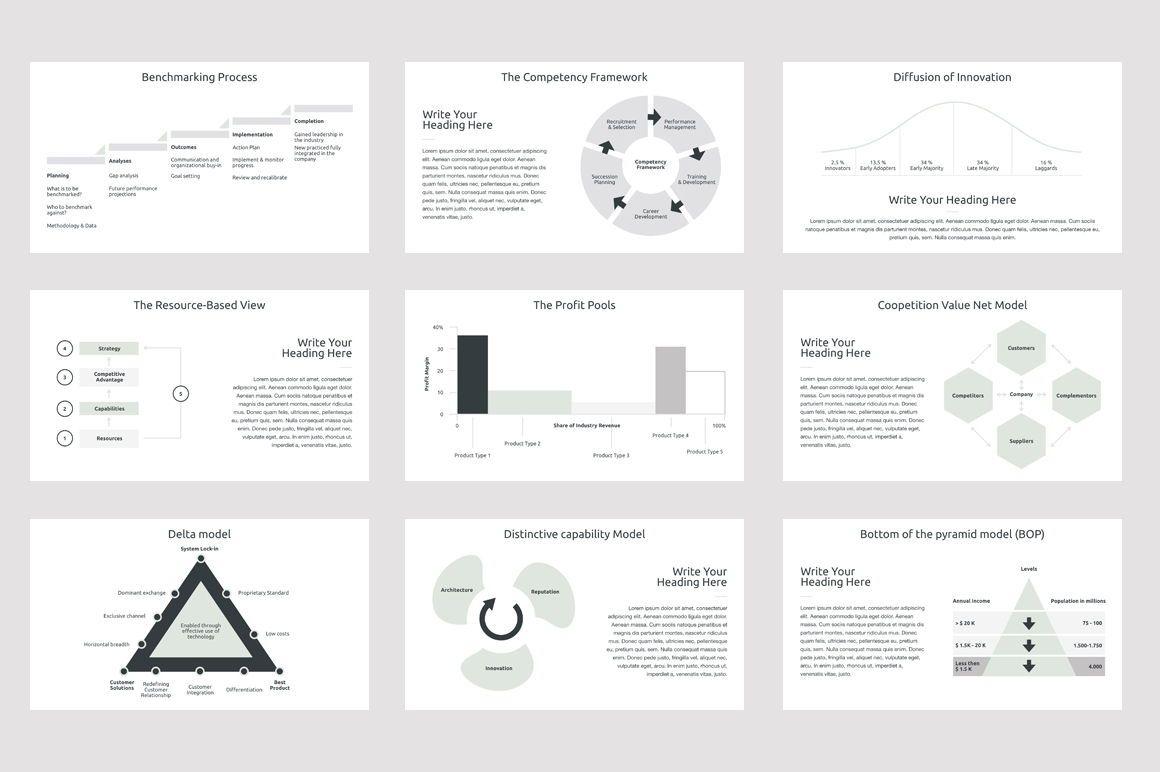 Business Strategy 2 Keynote Presentation Template, Slide 5, 04747, Presentation Templates — PoweredTemplate.com