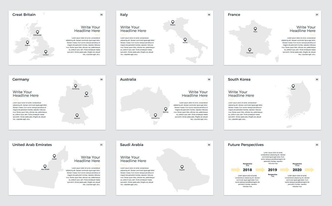 Company Profile PowerPoint Presentation Template, Slide 8, 04749, Presentation Templates — PoweredTemplate.com