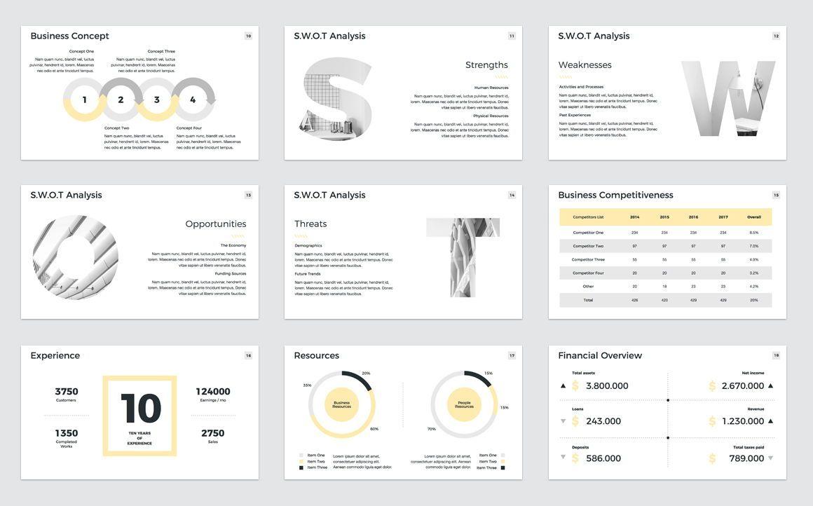 Company Profile Keynote Presentation Template, Slide 3, 04750, Presentation Templates — PoweredTemplate.com