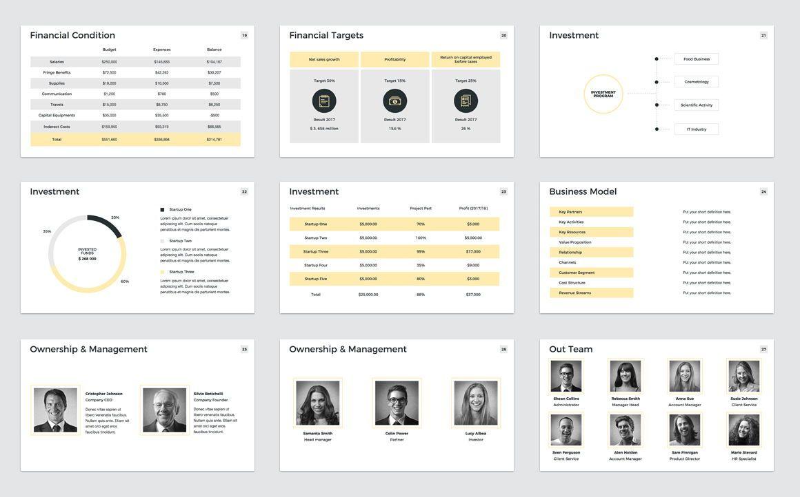 Company Profile Keynote Presentation Template, Slide 4, 04750, Presentation Templates — PoweredTemplate.com