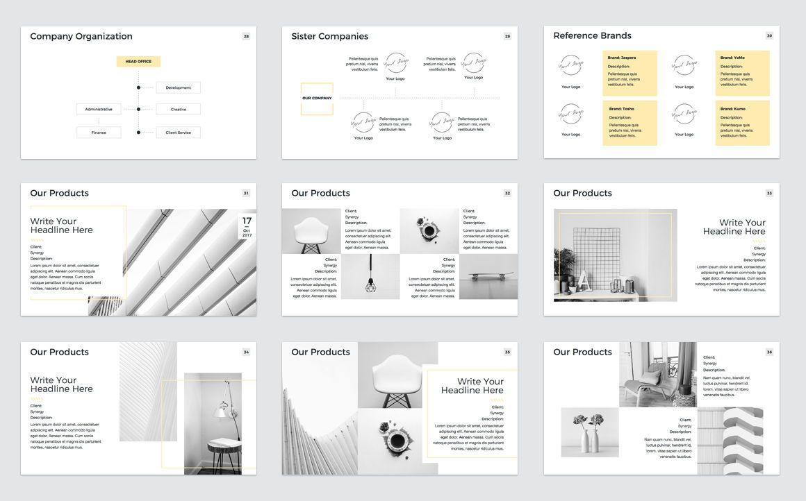Company Profile Keynote Presentation Template, Slide 5, 04750, Presentation Templates — PoweredTemplate.com