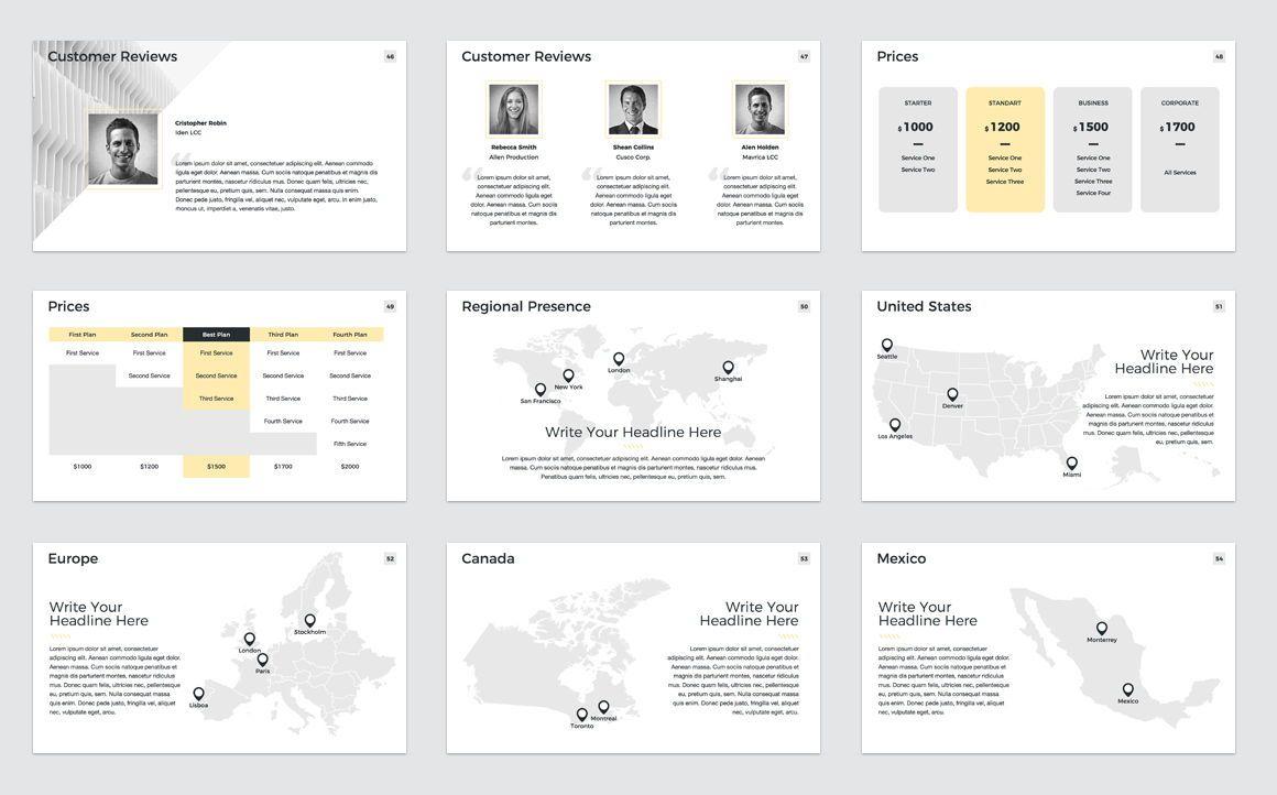 Company Profile Keynote Presentation Template, Slide 7, 04750, Presentation Templates — PoweredTemplate.com