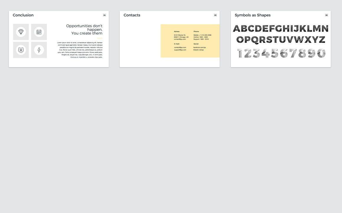 Company Profile Keynote Presentation Template, Slide 9, 04750, Presentation Templates — PoweredTemplate.com