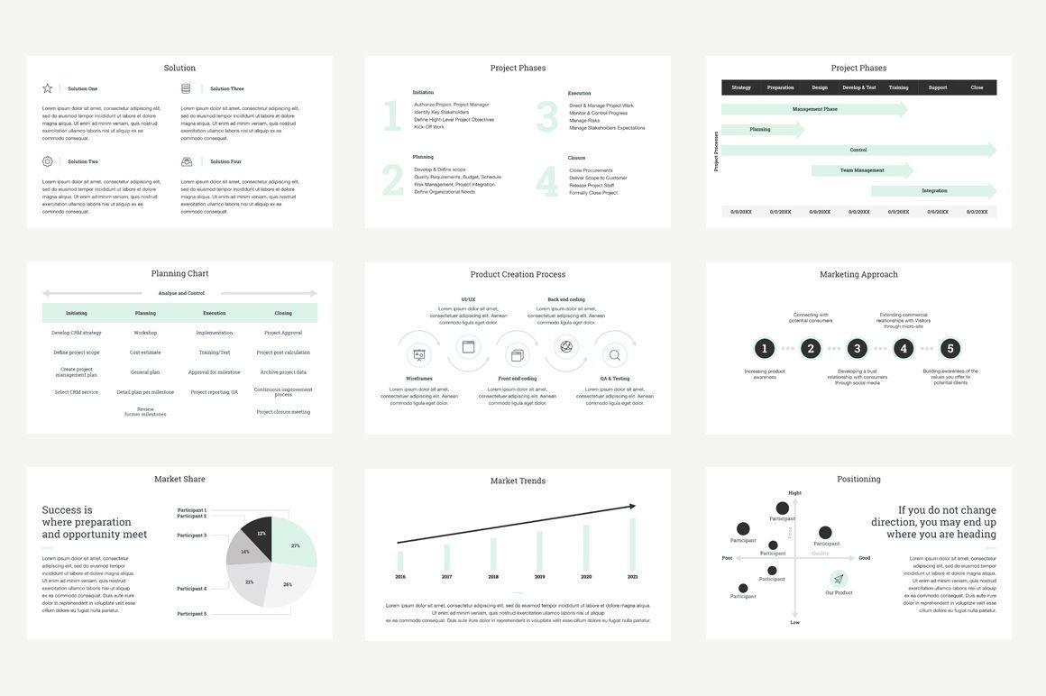 Project Management Report Keynote Presentation Template, Slide 3, 04758, Presentation Templates — PoweredTemplate.com
