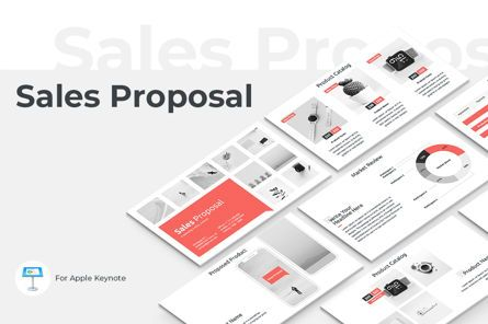 Presentation Templates: Sales Proposal Keynote Presentation Template #04759