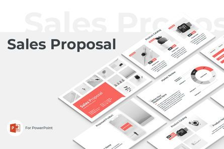 Presentation Templates: Sales Proposal PowerPoint Presentation Template #04760