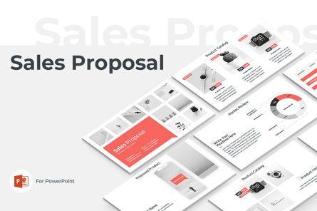 Presentation Templates: Sales Proposal PowerPoint Presentation Template #04760