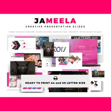Presentation Templates: Jameela beautiful Presentation PowerPoint Template #04765