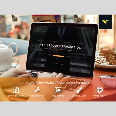 Presentation Templates: Product Promotion Presentation PowerPoint Template #04769