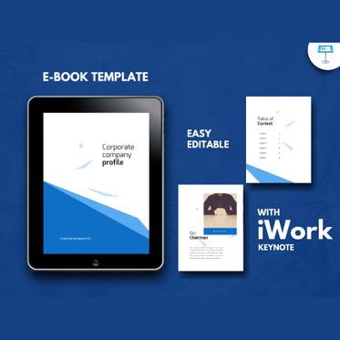 Business Models: Corporate Business Presentation Keynote Template #04772