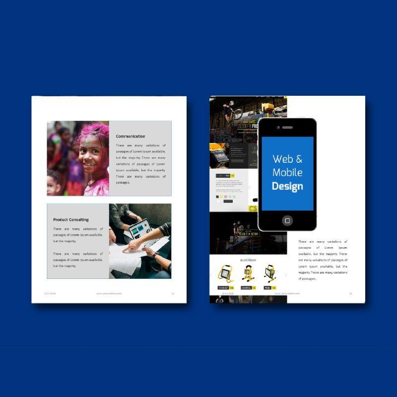 Corporate Business Presentation Keynote Template, Slide 7, 04772, Business Models — PoweredTemplate.com