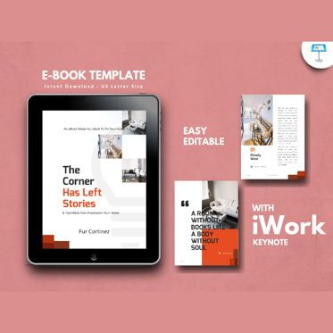 Presentation Templates: Interior Tips eBook Presentation Keynote Template #04775