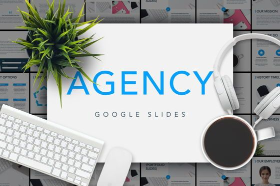 Presentation Templates: Agency Showcase Google Slides #04786
