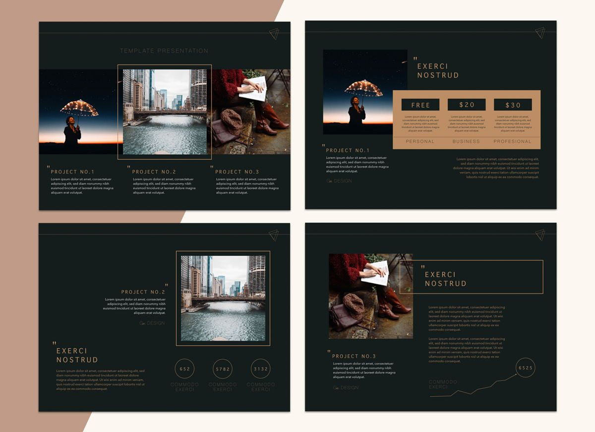 Urban Fashion Keynote Presentation Template, Folie 5, 04796, Business Modelle — PoweredTemplate.com