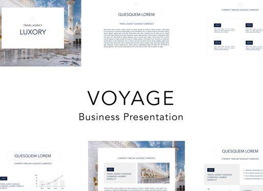 Business Models: Voyage Keynote Presentation Template #04797