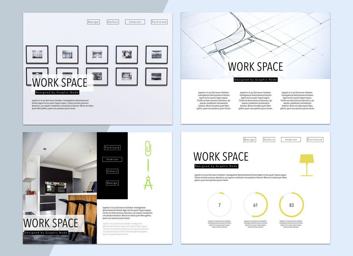 Work Space 02 Keynote Presentation Template, Slide 2, 04798, Business Models — PoweredTemplate.com
