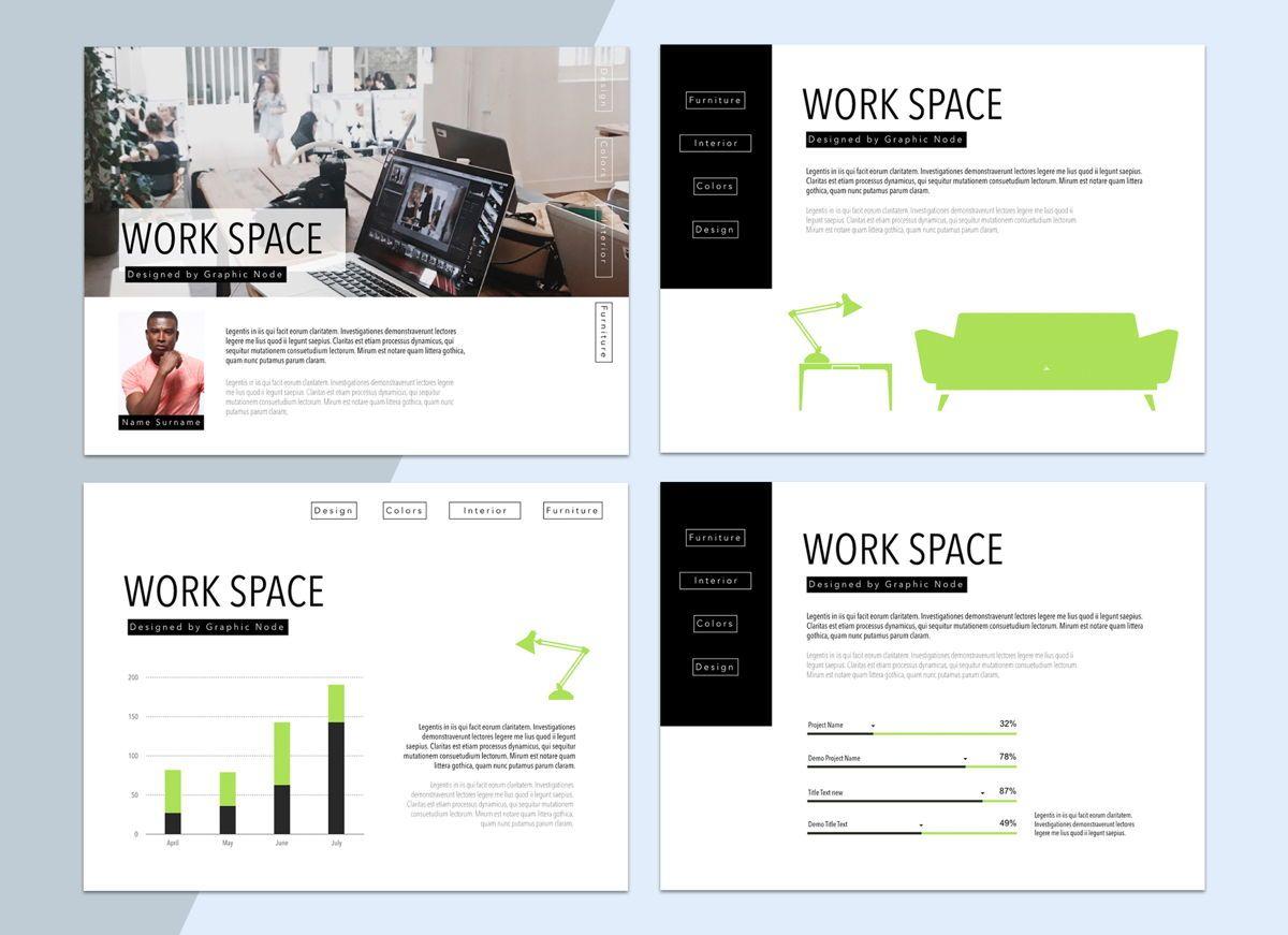 Work Space 02 Keynote Presentation Template, Slide 5, 04798, Business Models — PoweredTemplate.com