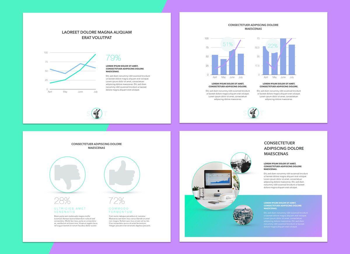 Mind Map Powerpoint Presentation Template, Slide 6, 04799, Business Models — PoweredTemplate.com
