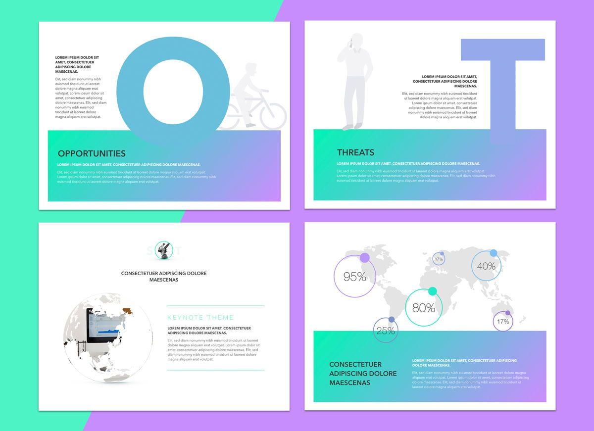 Mind Map Powerpoint Presentation Template, Slide 8, 04799, Business Models — PoweredTemplate.com