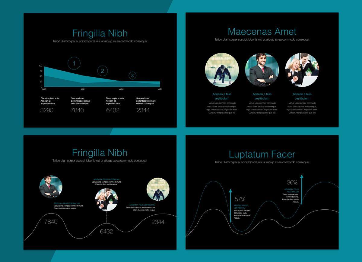 Project Spirit Powerpoint Presentation Template, Slide 4, 04803, Business Models — PoweredTemplate.com