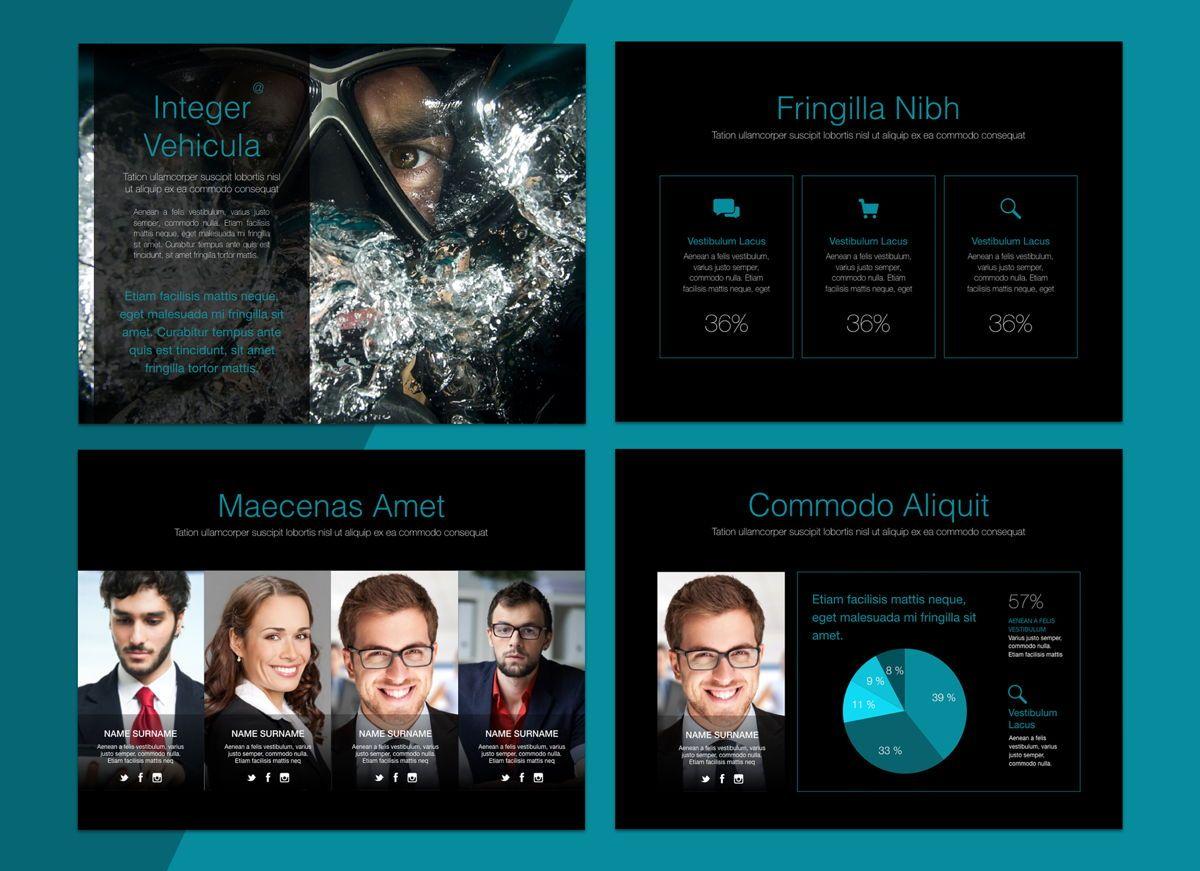 Project Spirit Powerpoint Presentation Template, Slide 5, 04803, Business Models — PoweredTemplate.com
