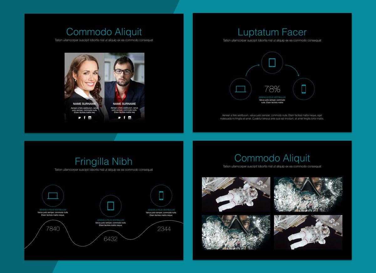 Project Spirit Powerpoint Presentation Template, Slide 7, 04803, Business Models — PoweredTemplate.com