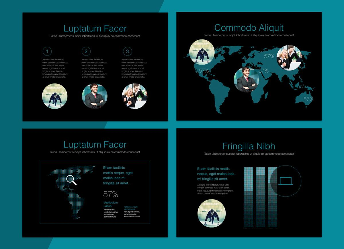 Project Spirit Powerpoint Presentation Template, Slide 8, 04803, Business Models — PoweredTemplate.com
