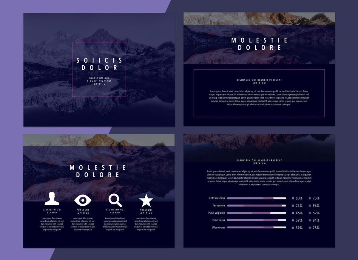 Reflect Powerpoint Presentation Template, Slide 2, 04804, Business Models — PoweredTemplate.com