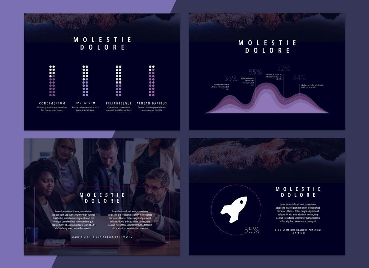 Reflect Powerpoint Presentation Template, Slide 5, 04804, Business Models — PoweredTemplate.com