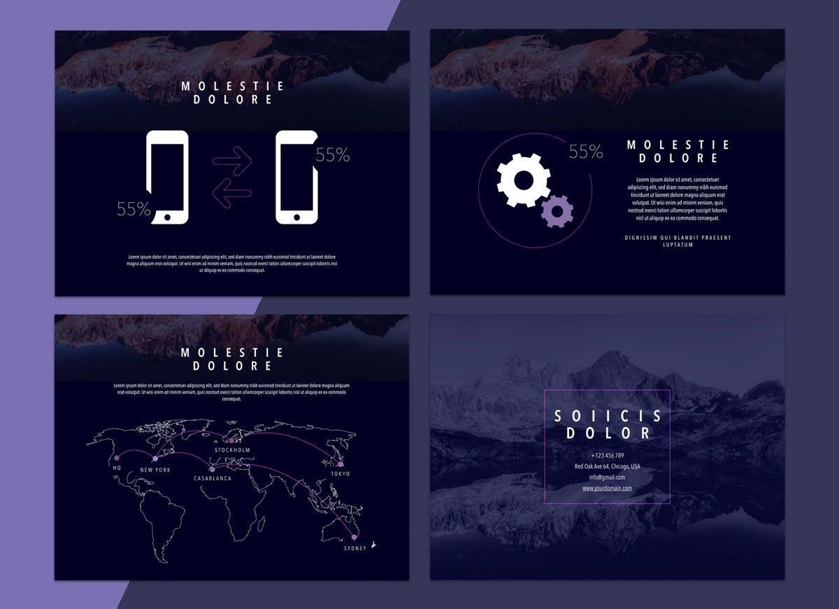 Reflect Powerpoint Presentation Template, Slide 6, 04804, Business Models — PoweredTemplate.com