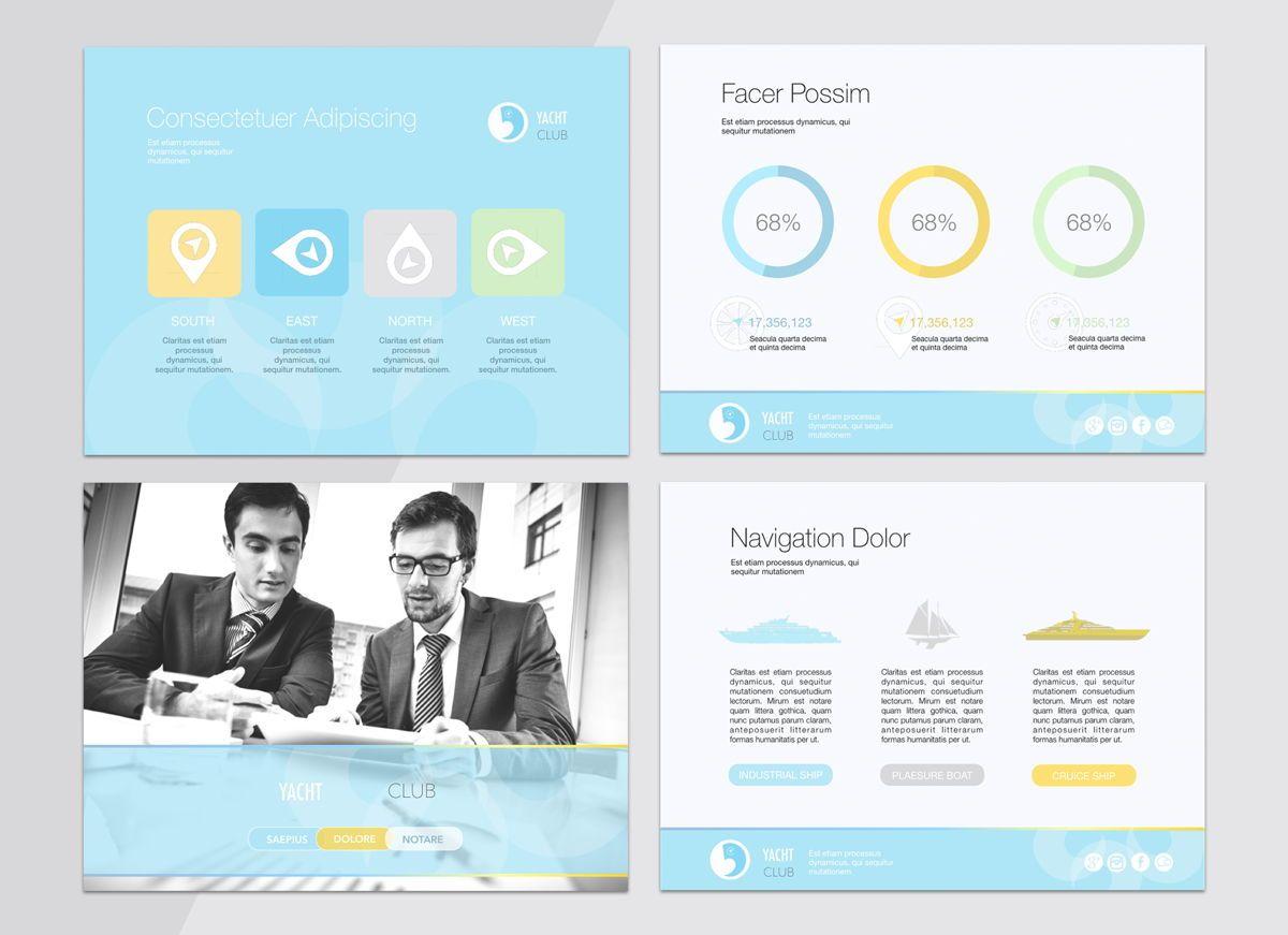 Smooth Sailing Powerpoint Presentation Template, Slide 3, 04806, Business Models — PoweredTemplate.com