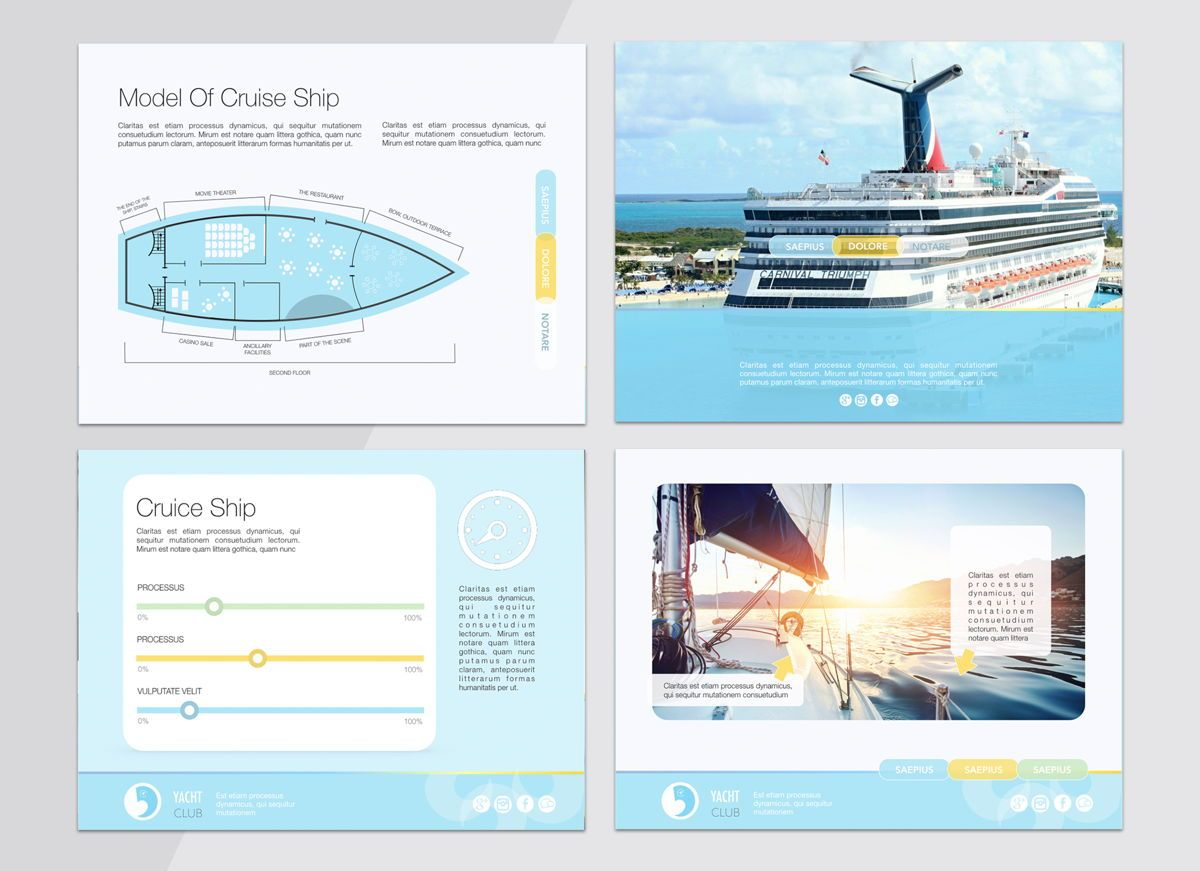 Smooth Sailing Powerpoint Presentation Template, Slide 5, 04806, Business Models — PoweredTemplate.com