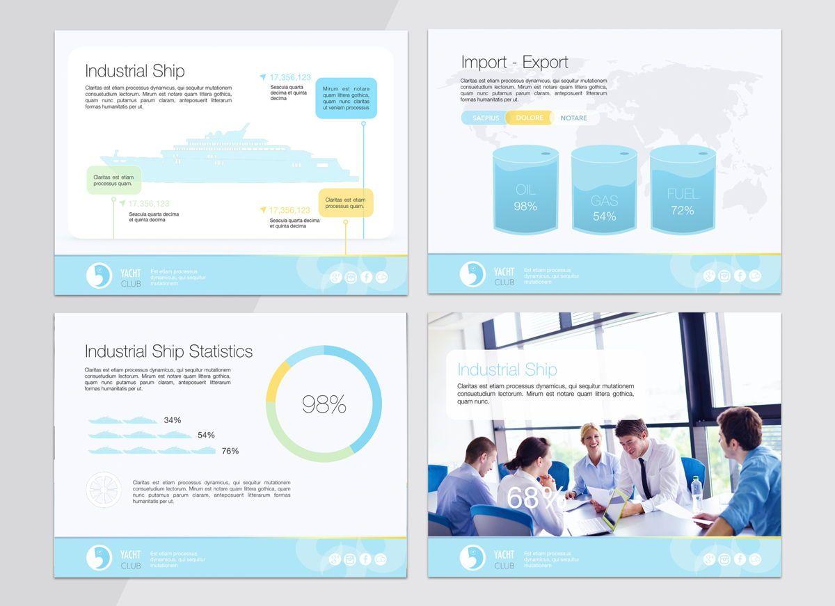 Smooth Sailing Powerpoint Presentation Template, Slide 6, 04806, Business Models — PoweredTemplate.com
