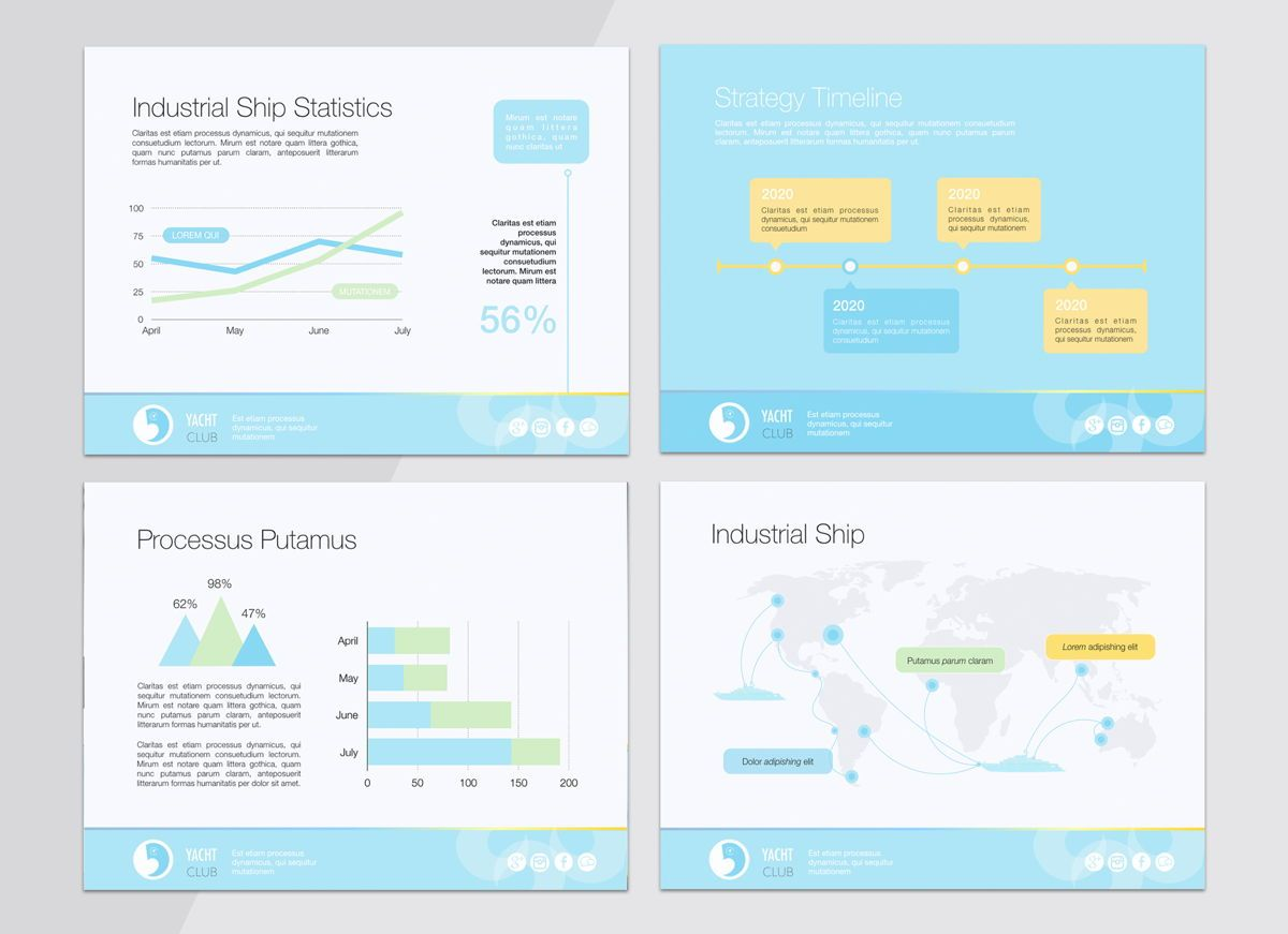 Smooth Sailing Powerpoint Presentation Template, Slide 7, 04806, Business Models — PoweredTemplate.com
