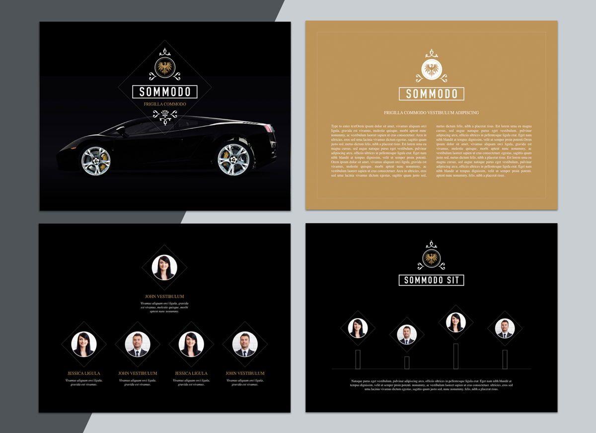 Splendor Powerpoint Presentation Template, Slide 3, 04808, Business Models — PoweredTemplate.com