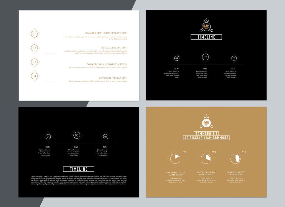 Splendor Powerpoint Presentation Template, Slide 4, 04808, Business Models — PoweredTemplate.com