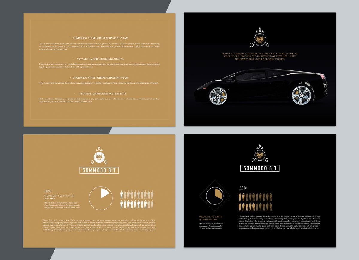Splendor Powerpoint Presentation Template, Slide 5, 04808, Business Models — PoweredTemplate.com