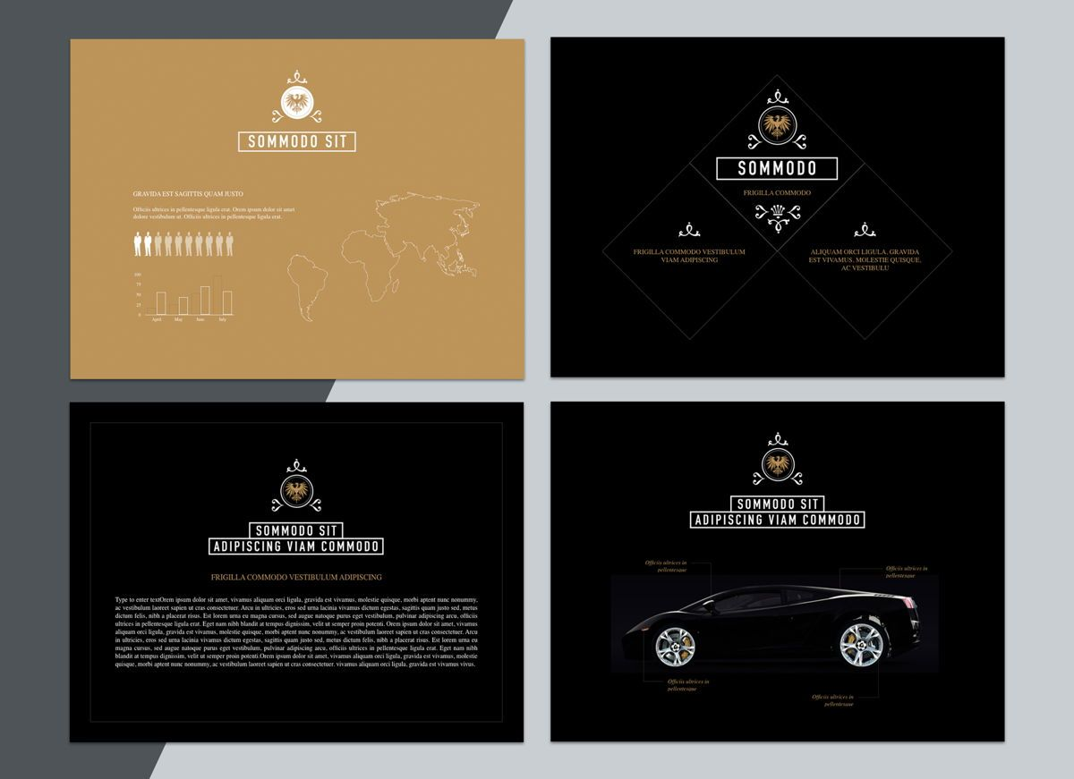 Splendor Powerpoint Presentation Template, Slide 7, 04808, Business Models — PoweredTemplate.com