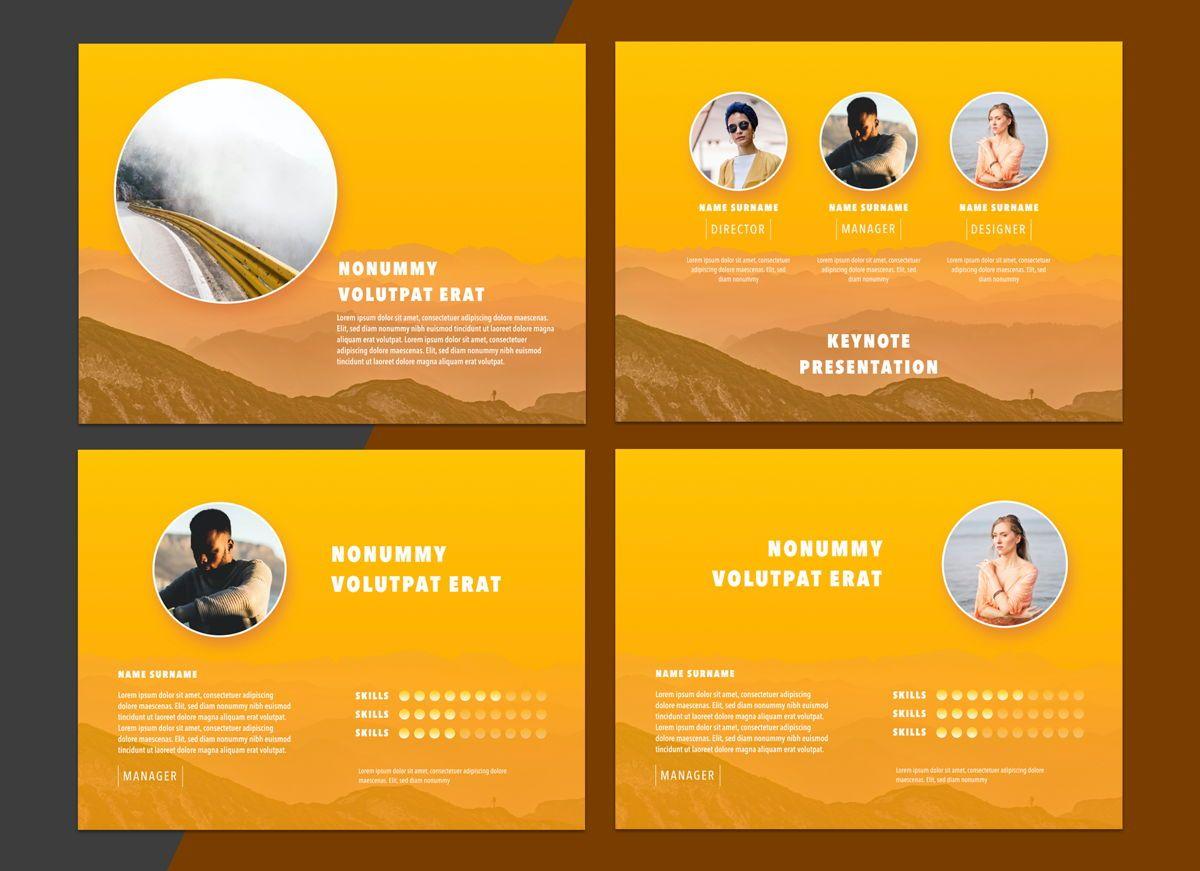 Sunny Side Powerpoint Presentation Template, Slide 3, 04809, Business Models — PoweredTemplate.com