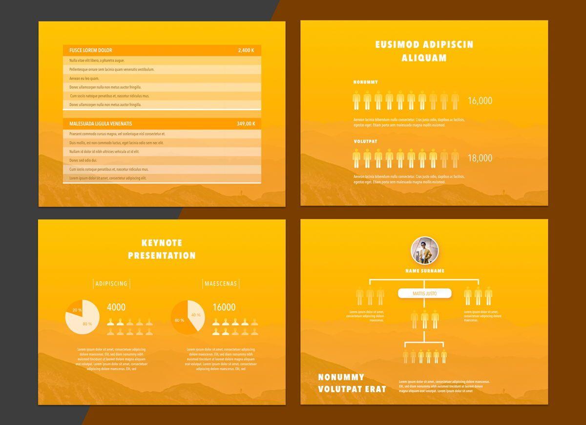 Sunny Side Powerpoint Presentation Template, Slide 6, 04809, Business Models — PoweredTemplate.com