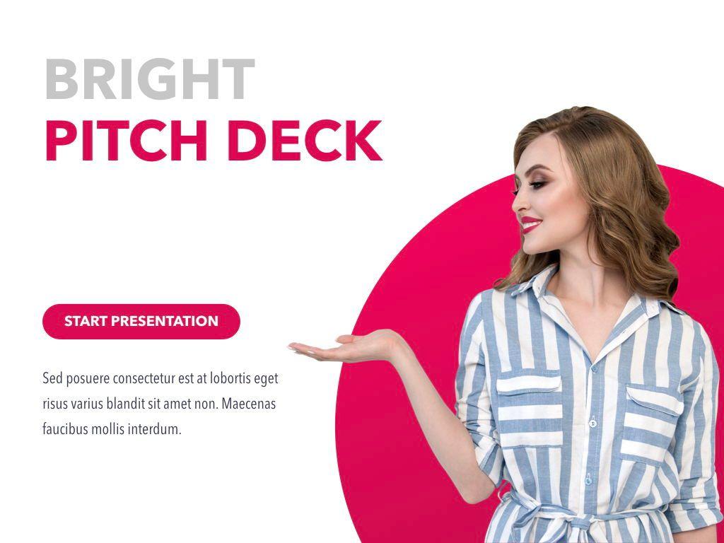 Bright Pitch Deck Keynote, Slide 2, 04816, Presentation Templates — PoweredTemplate.com