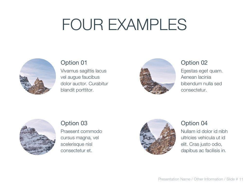 Cold Silence Google Slides, Slide 12, 04820, Presentation Templates — PoweredTemplate.com