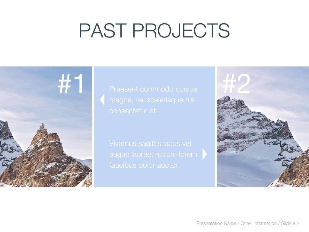Cold Silence Google Slides, Slide 4, 04820, Presentation Templates — PoweredTemplate.com