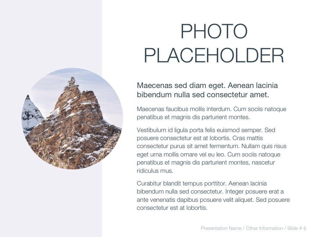 Cold Silence Google Slides, Slide 7, 04820, Presentation Templates — PoweredTemplate.com