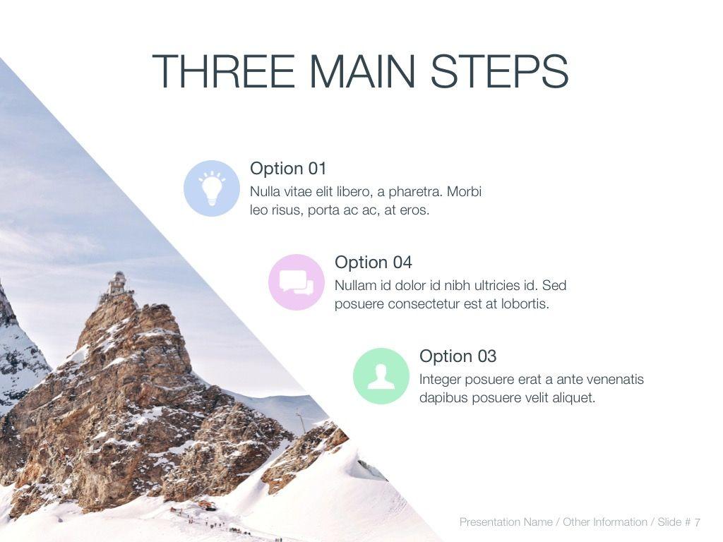 Cold Silence Google Slides, Slide 8, 04820, Presentation Templates — PoweredTemplate.com